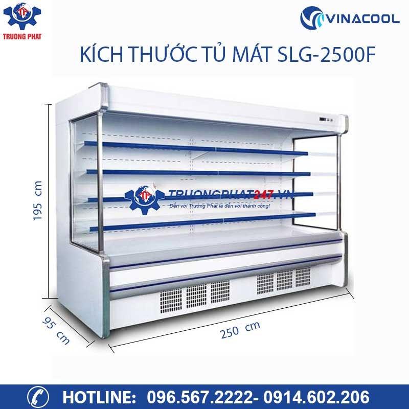 kích thước tủ SLG-2500F