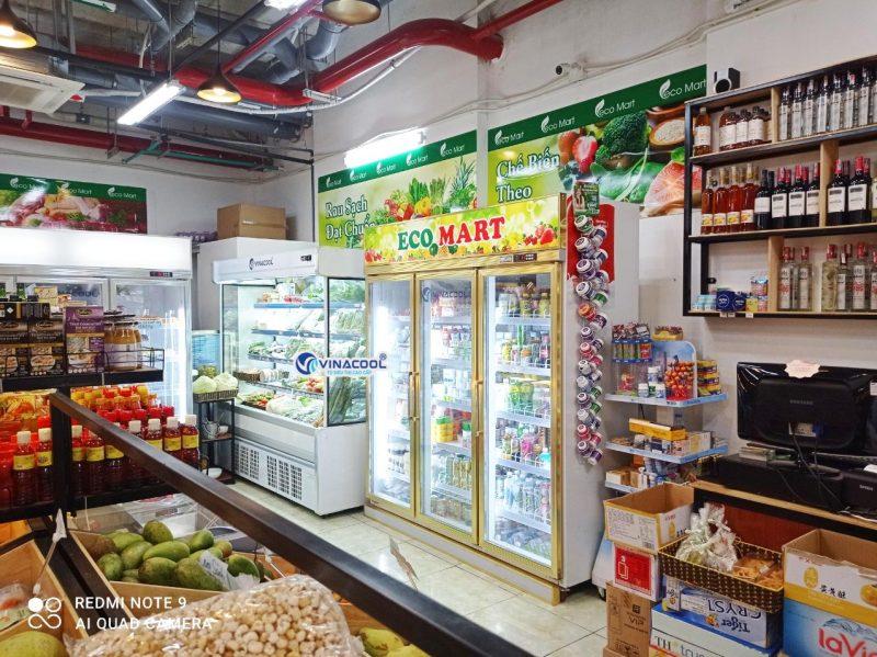 tủ siêu thị LG-186 giá rẻ