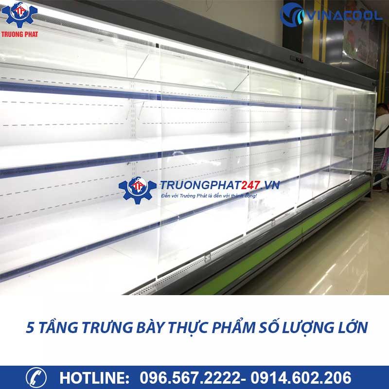 tủ mát trưng bày thực phẩm siêu thị