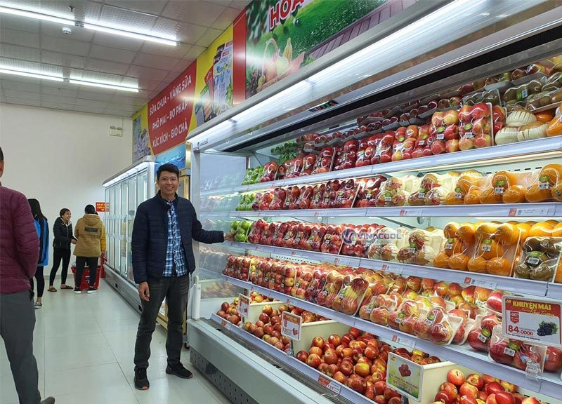 tủ bảo quản trái cây cao cấp