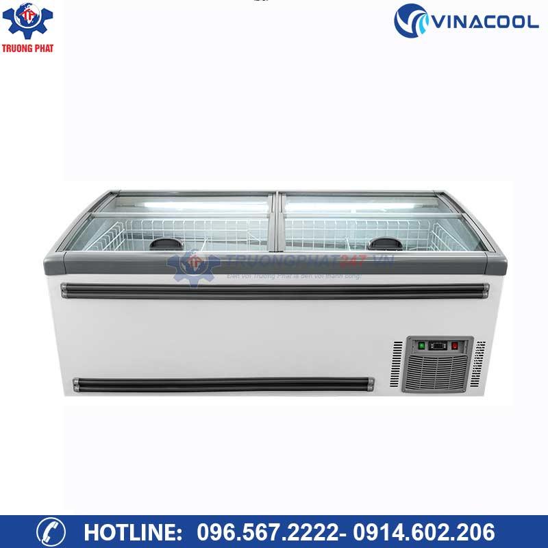 tủ đông siêu thị HR-2100D Vinacool