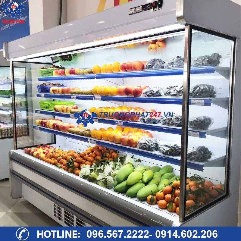 tủ mát trưng bày rau củ siêu thị SLG-2500F
