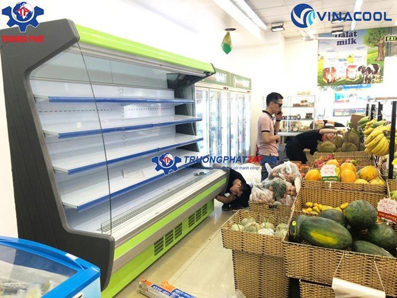 tủ siêu thị cao cấp vinacool