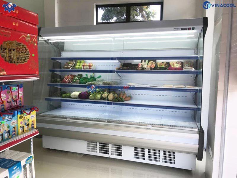 tủ mát trưng bày thực phẩm 2m5