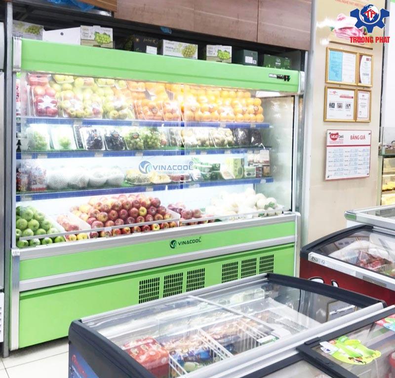 tủ mát siêu thị Vinacool