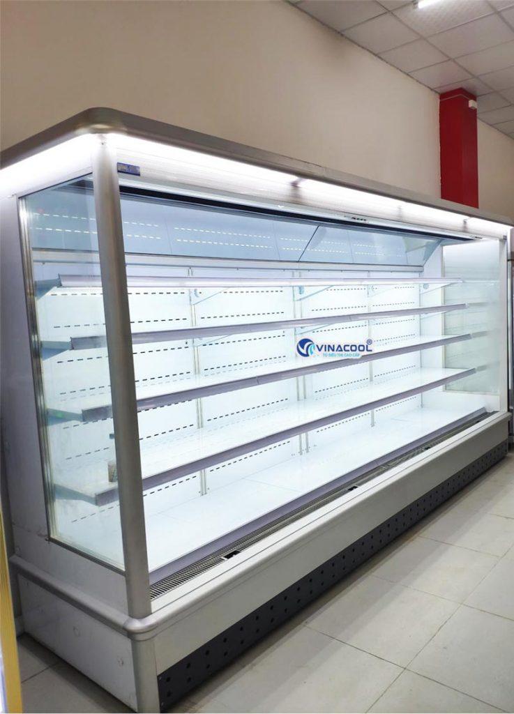 tủ mát siêu thị không cửa