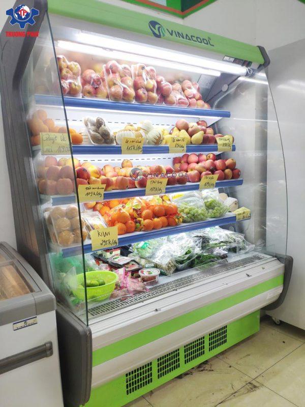 tủ mát cong siêu thị SLG-1500FB