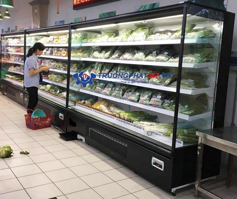 tủ siêu thị để rau vinacool