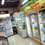 tủ siêu thị 3 cánh kính vinacool